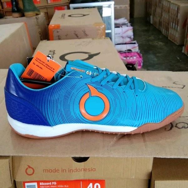 Jual Sepatu Futsal Ortuseight Catalyst Oracle In Biru Jakarta