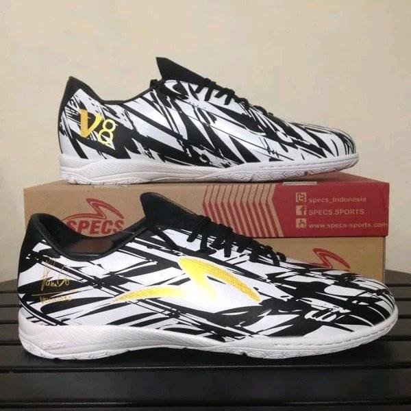 Jual Sepatu Futsal Specs Accelerator Illuzion V8 Black White