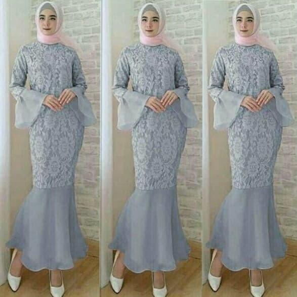 Jual Baju Gamis Model Duyung Kota Malang Bungastar Tokopedia