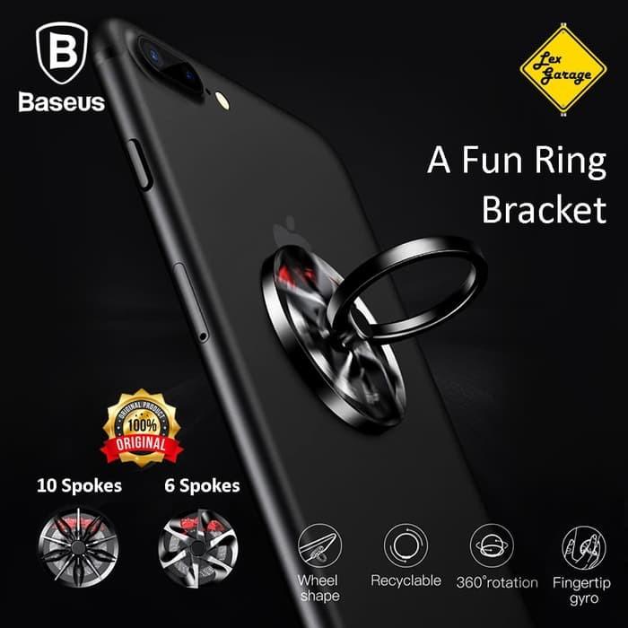 Jual Baseus Wheel Ring Holder Phone Holder Stand Cincin HP ...