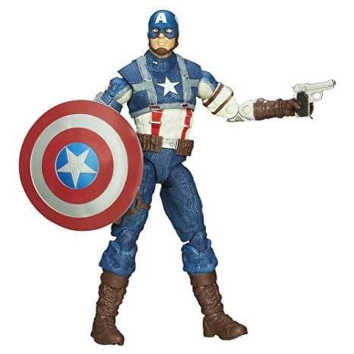 harga Marvel Legends Infinite Series Captain America WW2 - HASBRO Tokopedia.com