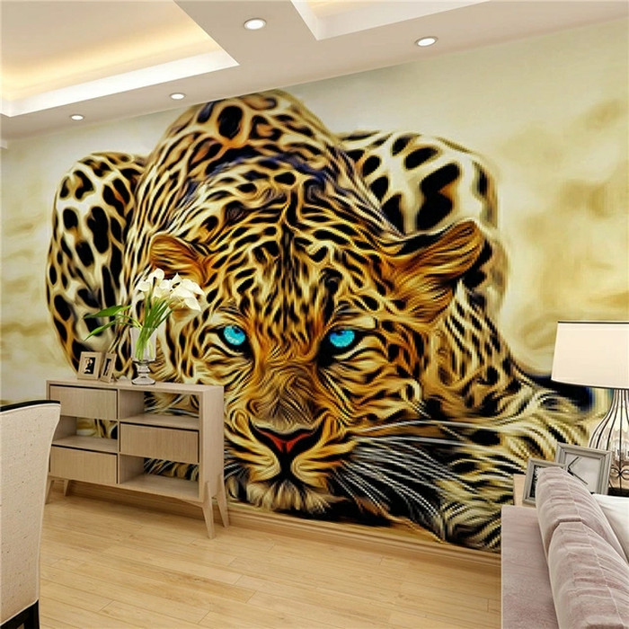 Jual Promo 3d Wallpaper High Quality Leopard Wall Wa Kota Medan Sayshop90 Tokopedia