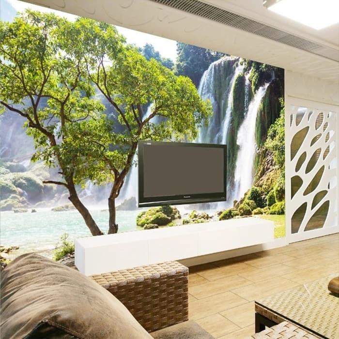 Jual Promo Custom Mural Wallpaper 3d Wall Mural Natural Landsc