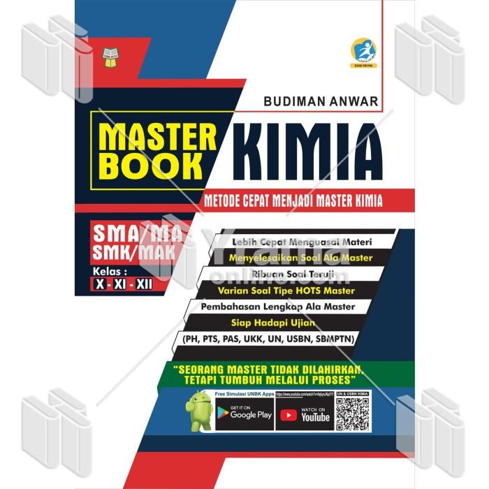 Foto Produk MASTER BOOK KIMIA UNTUK SMA/MA-SMK/MAK KELAS X, XI, XII dari Yrama Widya Online