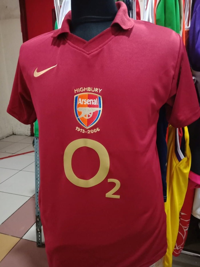 new product 8be48 7850d Jual Jersey Arsenal 2005/2006 Highbury - Kab. Bogor - Eleven Soccer |  Tokopedia