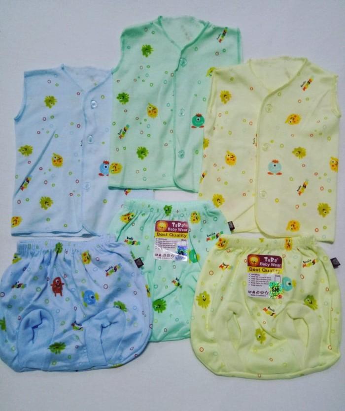 ... BABY BAYI USAGI MIX 3 COLOUR SNI ... Source · 3 setel baju neci kutung celana pop bayi newborn Tara warna
