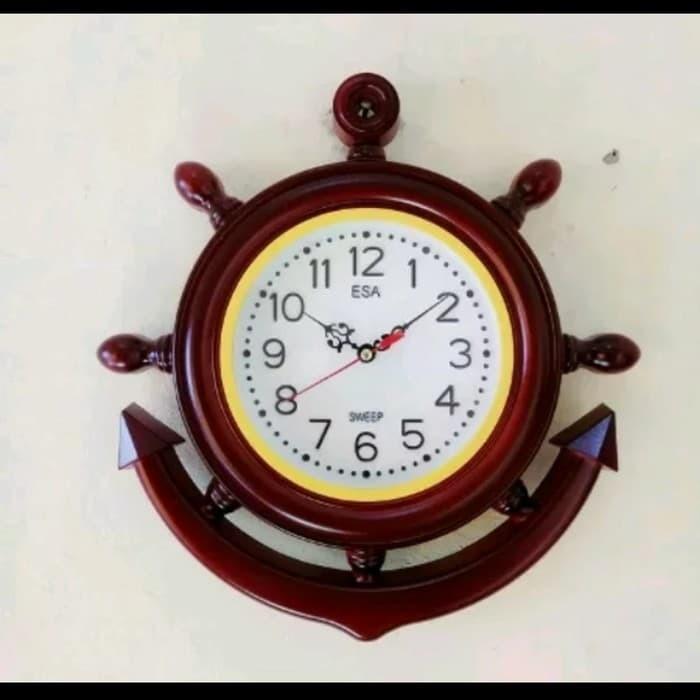 Foto Produk jam unik Merek ESA Model Jam kemudi kapa dari zahwaherbal