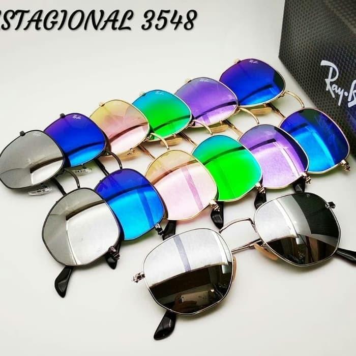 4b6544db8c419 Jual Kacamata fashion RB hexagonal - START WATCH
