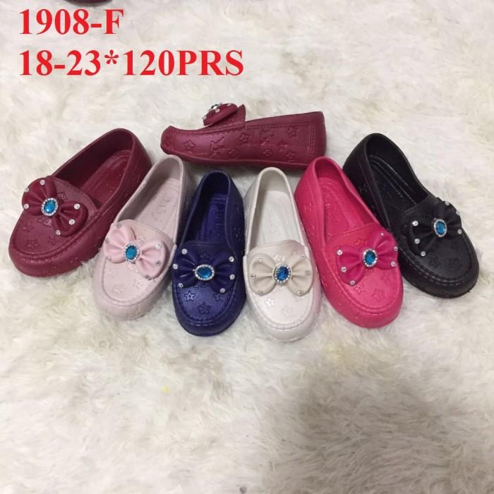 cbef6d68bc Jual PROMO TERLARIS Sepatu Jelly Anak pita permata 1908-F/ jelly shoes anak  - MYMY shop | Tokopedia