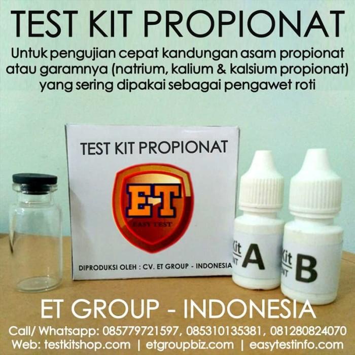 Foto Produk Test Kit Propionat - Propionate Testkit - Teskit Tes Pengawet dari easytest