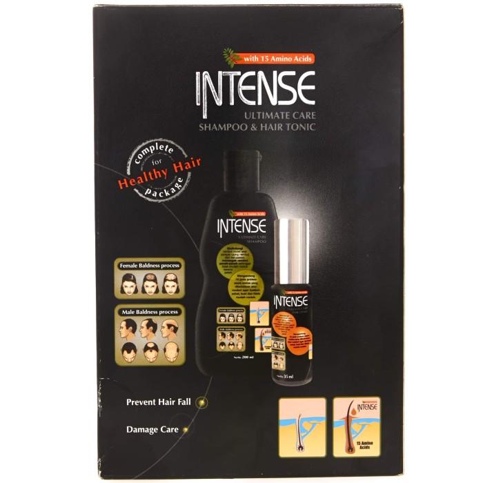 harga Intense twin pack shampoo + hair tonic - 320358 Tokopedia.com