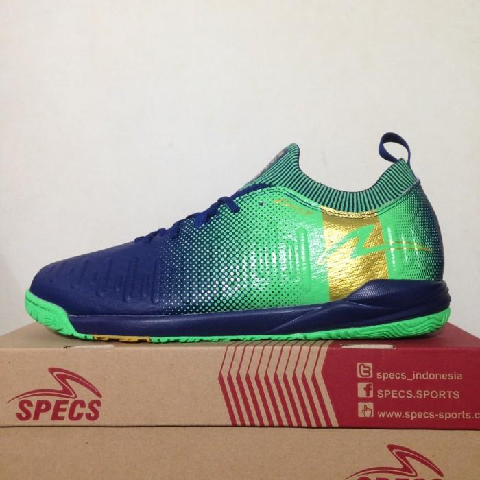 Jual Sepatu Futsal Specs Swervo Thunderbolt 19 IN Shadow Blue 400830 ... a4587e94b9