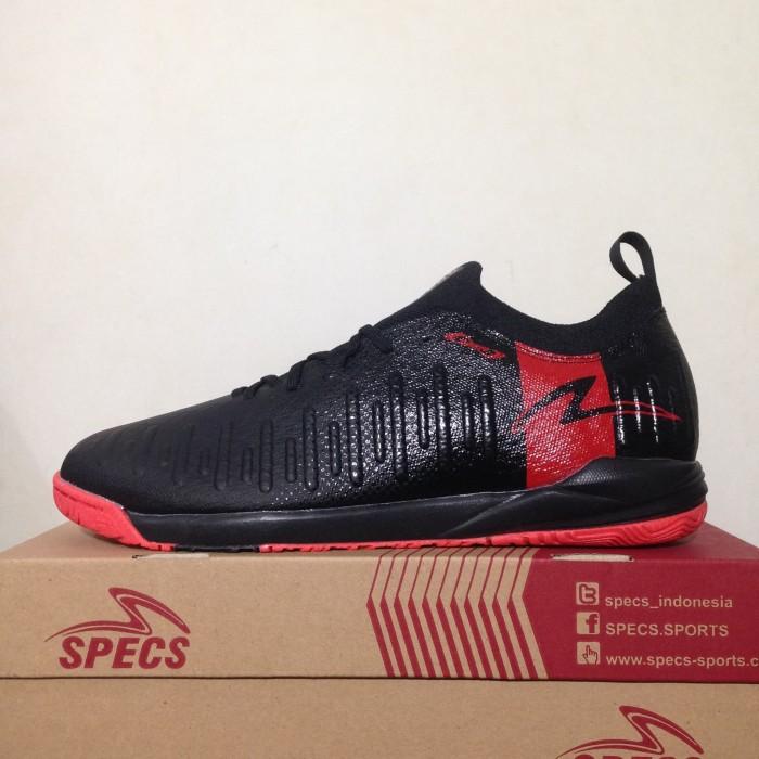 Sepatu Futsal Specs Swervo Thunderbolt 19 IN Black Granite 400828 Ori b90176fb07