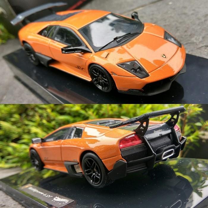 Jual Diecast Hotwheels Elite 1 43 Lamborghini Murcielago Lp 670 Sv