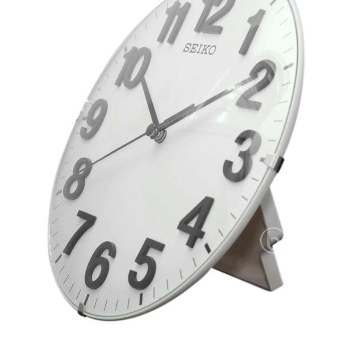 Seiko Qxa656w Jam Dinding 21 Cm Quiet Sweep Wall Clock - Harga Baru ... 93a180792a