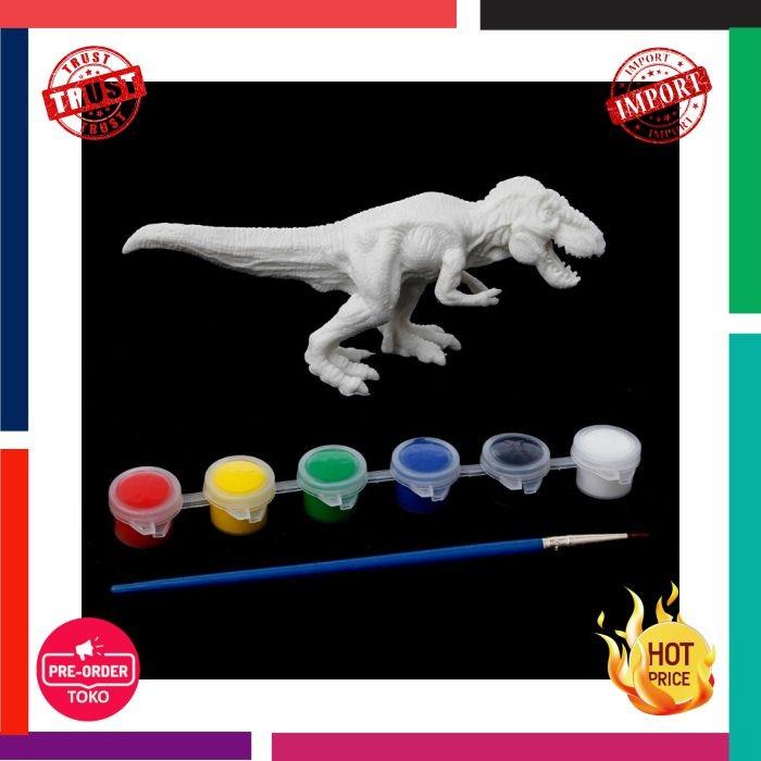 54 Gambar Lukisan Dinosaurus Kekinian