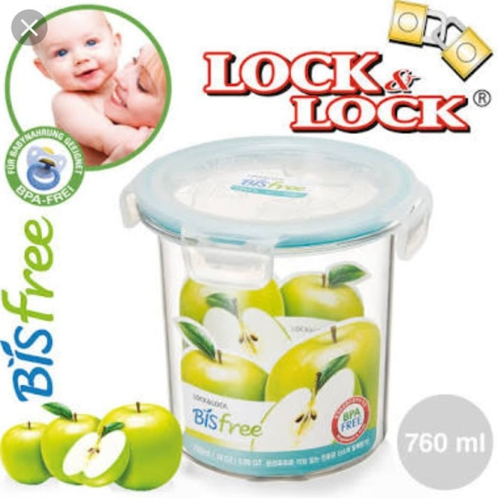 Lock n lock food container bisfree transparant like glass