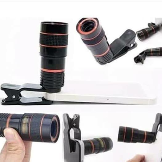 harga Lensa kamera teropong hp mobil phone telescope Tokopedia.com