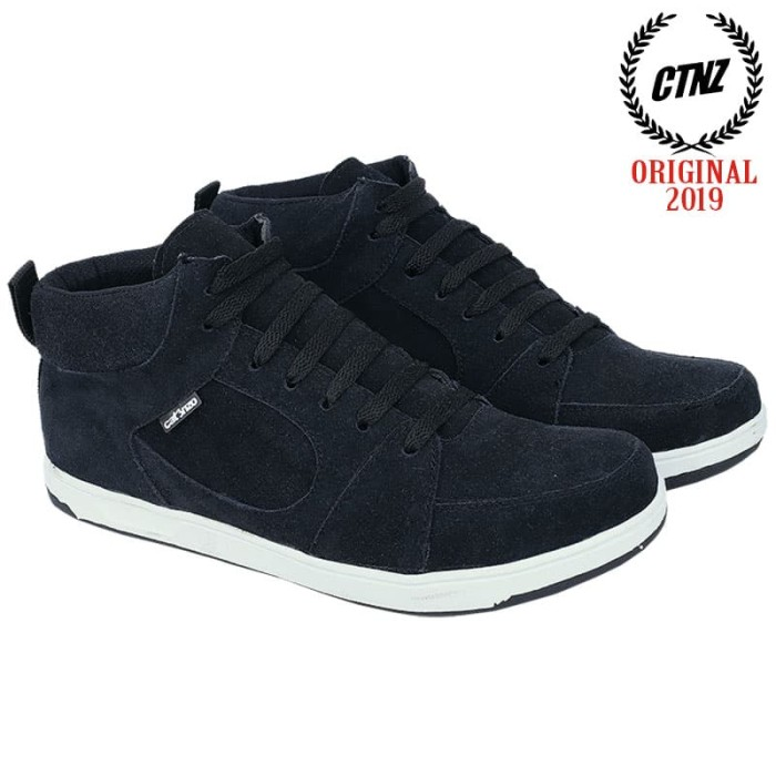 harga Sepatu boot sneaker / kets / casual pria hitam catenzo - mr 760 Tokopedia.com