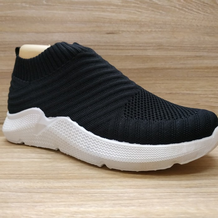 Jual Sepatu Wanita Sneaker Import Slip On Merk Sport Motif Puma