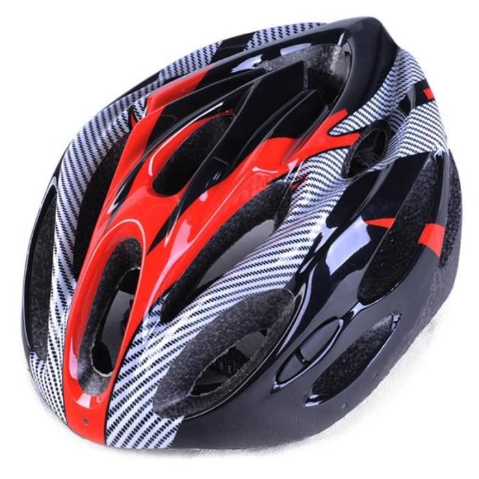 Foto Produk Helm Sepeda EPS Foam PVC Shell - x10 - Black no simano polygon avand - Hitam dari JAG- Adventure Gear