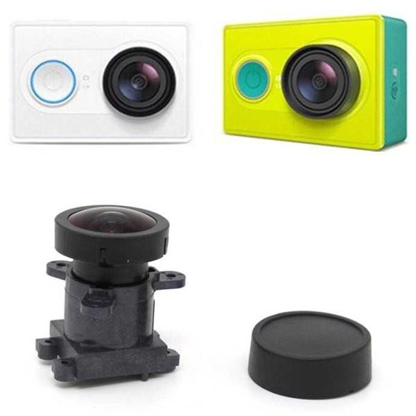 Lensa Pengganti Kamera Xiaomi Yi 16000W Pixel 170 Degree Range of