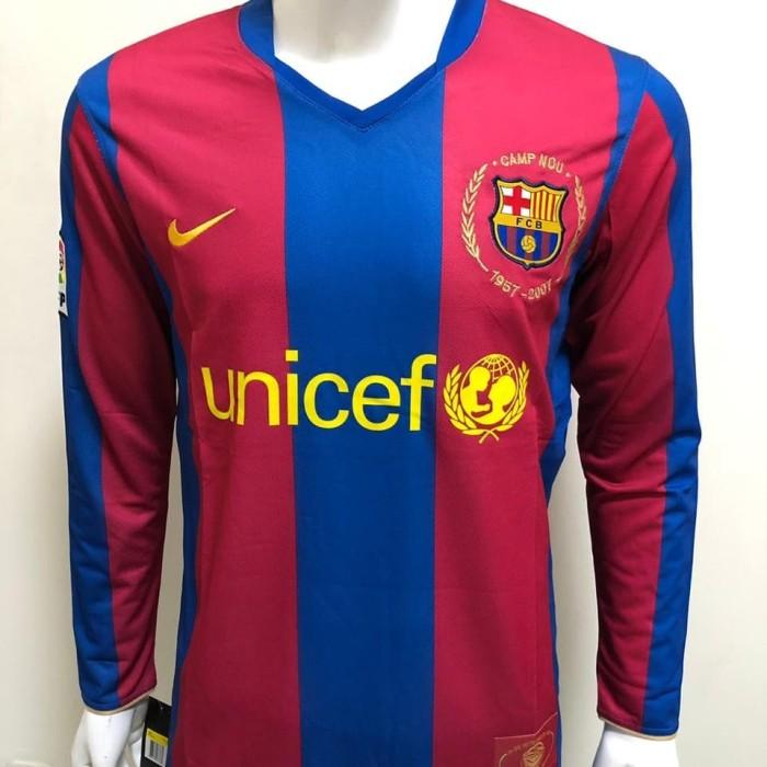 5adb2f80861 Jersey retro barcelona home ls 2007-2008 aaa thailand harga ...