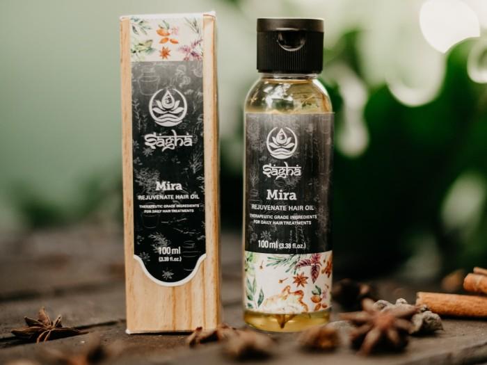 Minyak Rambut Sagha MIRA / Rejuvenate Oil For Hair