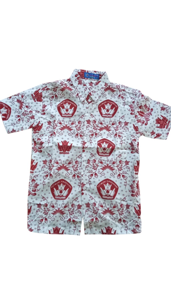 91 Gaya Baju Batik Sekolah Sd Terbaru