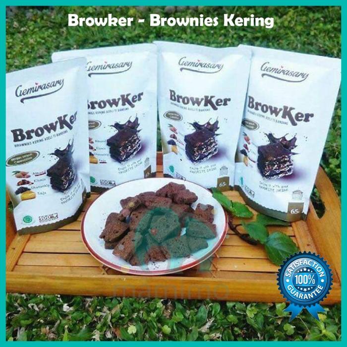 Browker Brownies Kering Gemirasary - Original - Kismis