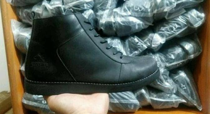 Sepatu Brodo Kulit Asli Wolf Original - Sepatu Kulit Pria +(Real Pic) 33af1698c4