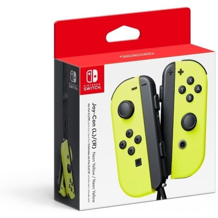 harga Nintendo switch - joy-con (l/r)-yellow Tokopedia.com