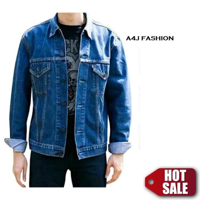 A4J Fashion Jaket Denim Jaket dilan BIOWASH Premium Quality