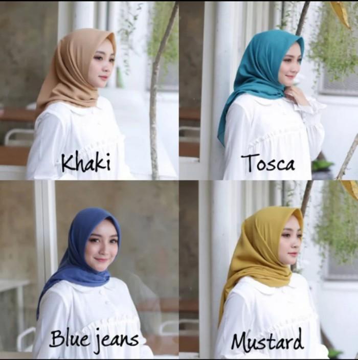 Hijab Bahan Voal Polos 73