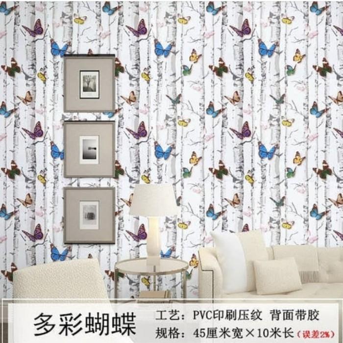 Jual Wallpaper Dinding Kamar Anak Wallpaper Kupu Kab Bekasi