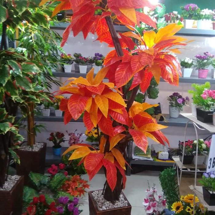Jual Daun Puring Plastik Bunga Hias Plastik Tanaman Artificial Dekorasi Kab Bogor Rinpai Store Tokopedia