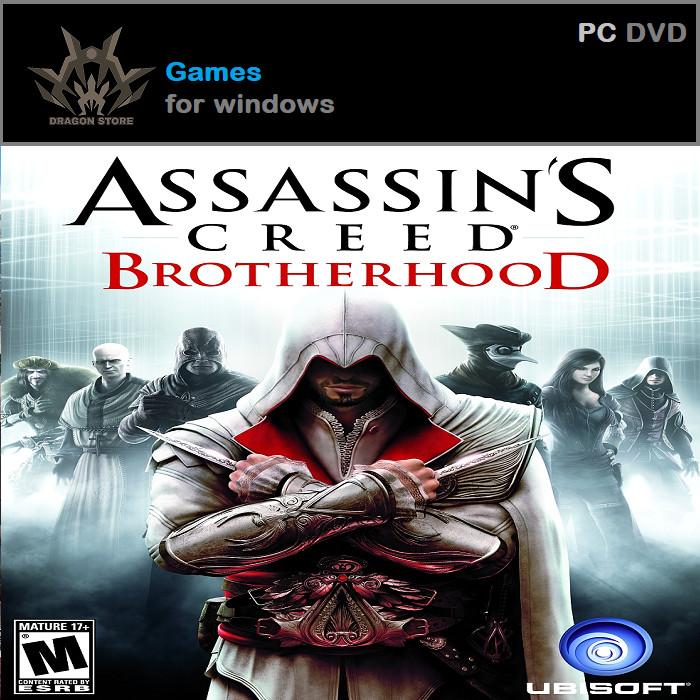 Jual Assassins Creed Brotherhood Complete Edition 1 Dvd Kab