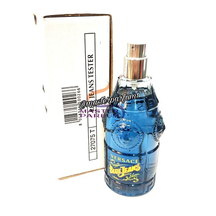 Jeans Blue Jual Parfum TesterOriginal 100Jakarta MasterTokopedia Versace Pusat WCoedBrx