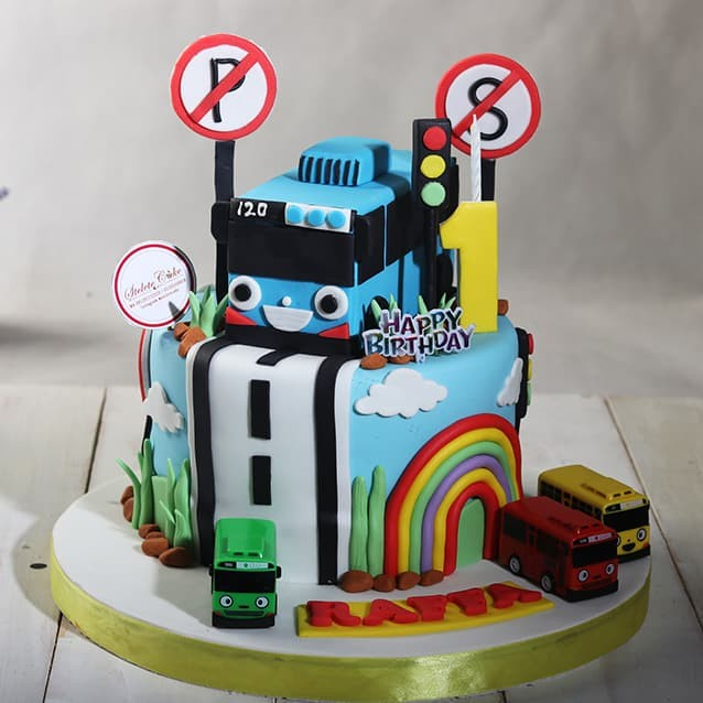 Jual Kue Ulang Tahun Model Tayo 20 Cm Mohon Baca Keterangan Jakarta Barat Stelete Cake Tokopedia