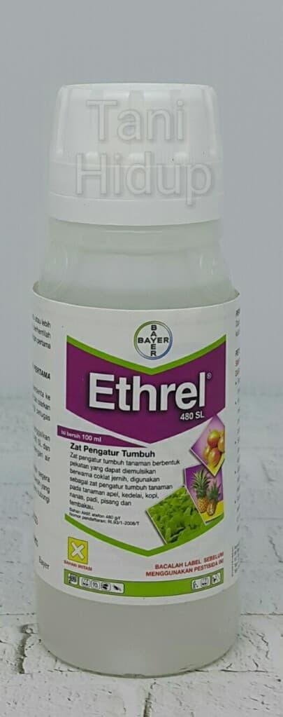 Hormon tanaman zat pengatur tumbuh (ZPT) Ethrel 480SL 100 ml - Bayer