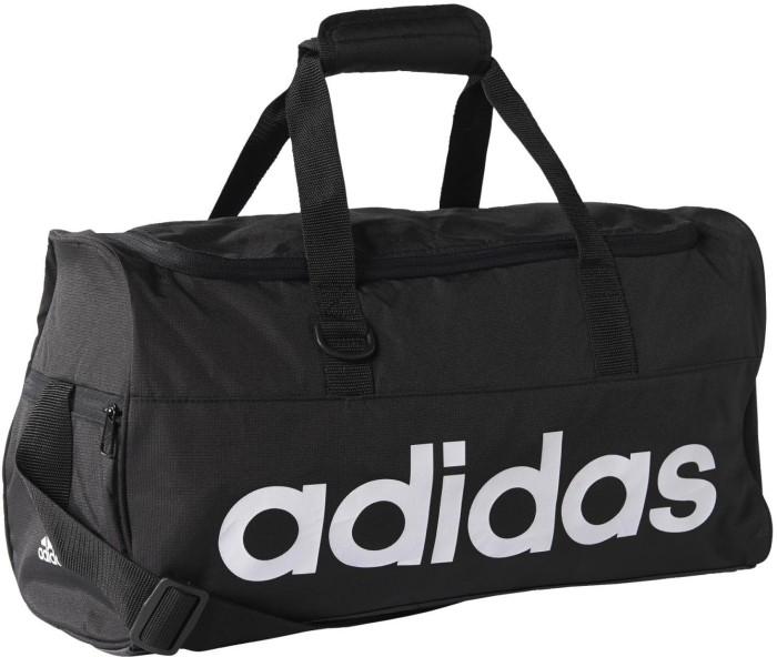 5f6b5c73e792 Tas Adidas LINEAR PERFORMANCE DUFFEL BAG SMALL GYM Travel Fitness BAG