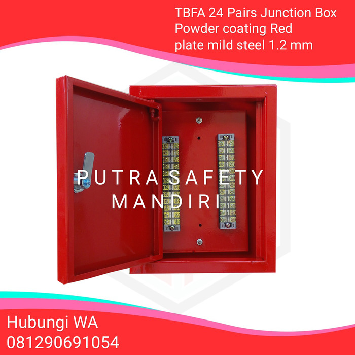 Pairs Terminal Junction Box Fire Alarm