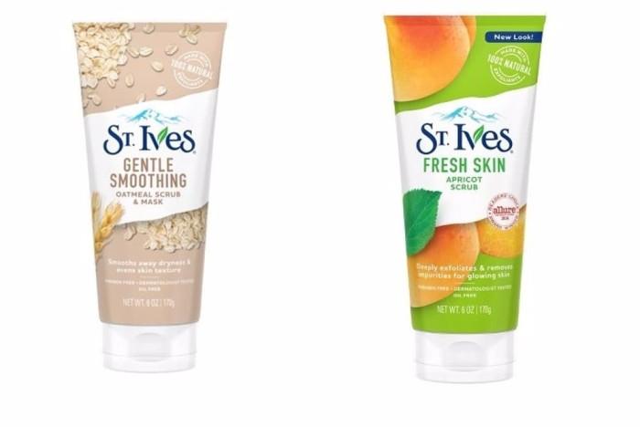 Jual PROMO St Ives Fresh Skin Apricot Oatmeal Mask Face Scrub 170g ... f9a67ef1ca