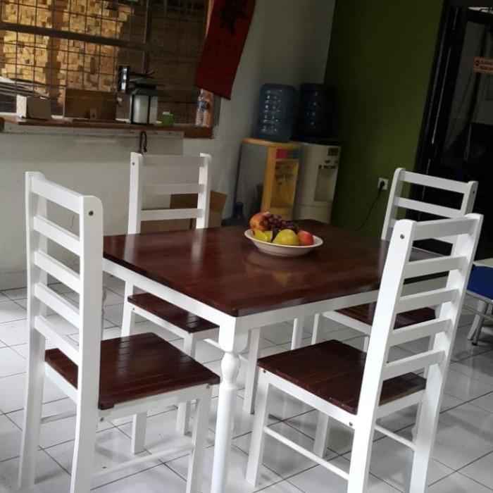 Jual Meja Makan Minimalis Model Terbaik Harga Murah Kab Tangerang Bojong Furniture Dasana Tokopedia