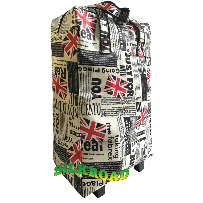 women bags Foldable Shopping bag troLLEyTAs beLanja ROdaTOTETroli