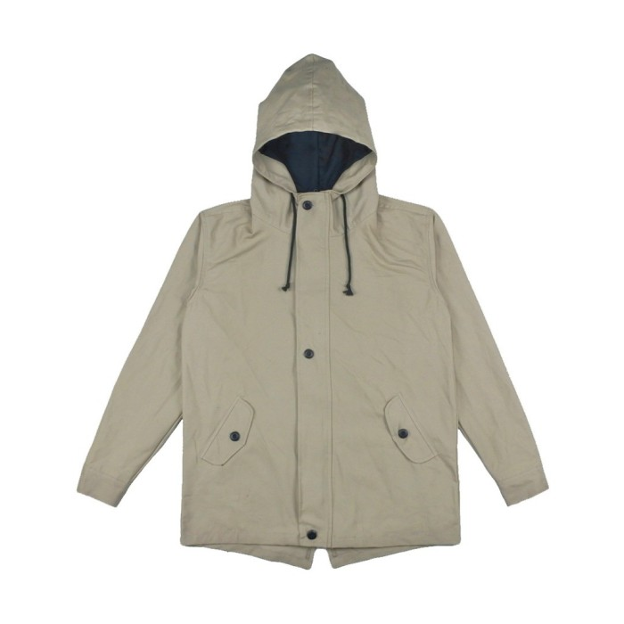 3bd3a5bb8 Jual PK56 - BONBY SIX CREAM PARKA JACKET - M - ROUGHNECK 1991 Official - OS  | Tokopedia