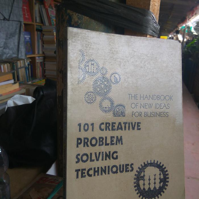 Jual PenKes Buku 101 Creative Problem Solving Techniques by James Higgins -  Jakarta Pusat - Nil BookStore | Tokopedia
