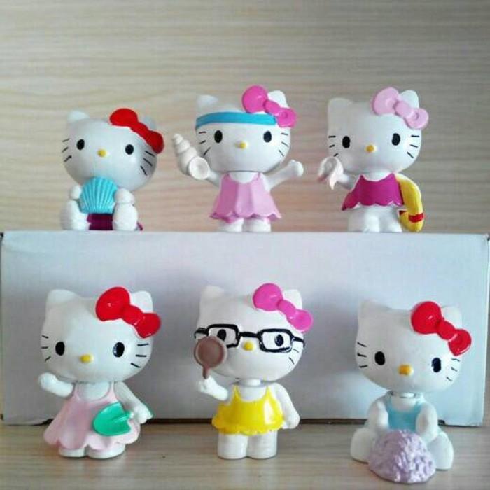 Hiasan Kue Tart Cake Topper Figure Hello Kitty HK Cute miniatur