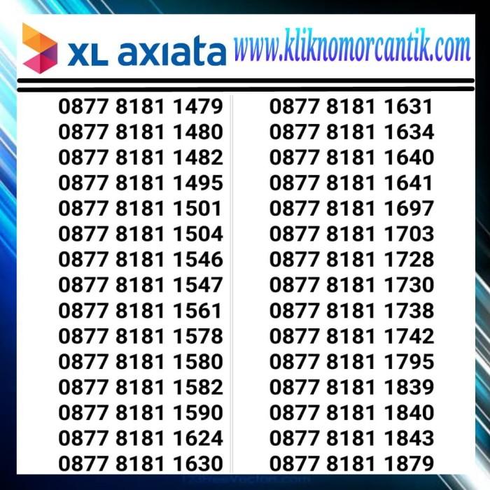 ... 85 87 87 Harga Spesifikasi Produk Source · Nomor Cantik XL axiata 4G seri 8181 Hoki Murah 3