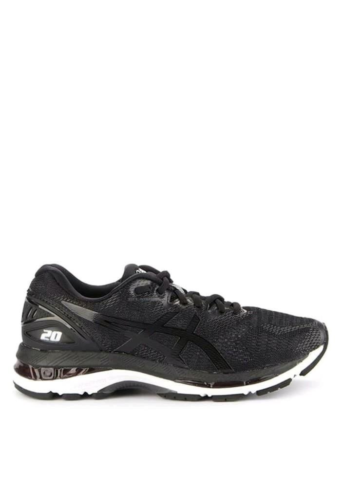 Jual Sepatu ASICS Gel Nimbus 20 W Black White - Cengli Shop  ec4c6b9568